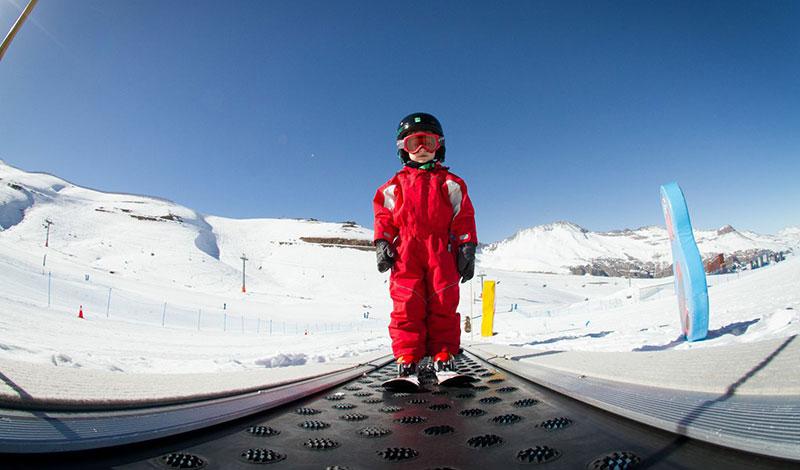kid ski school