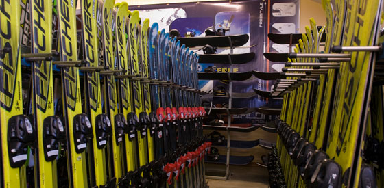 chile ski rentals