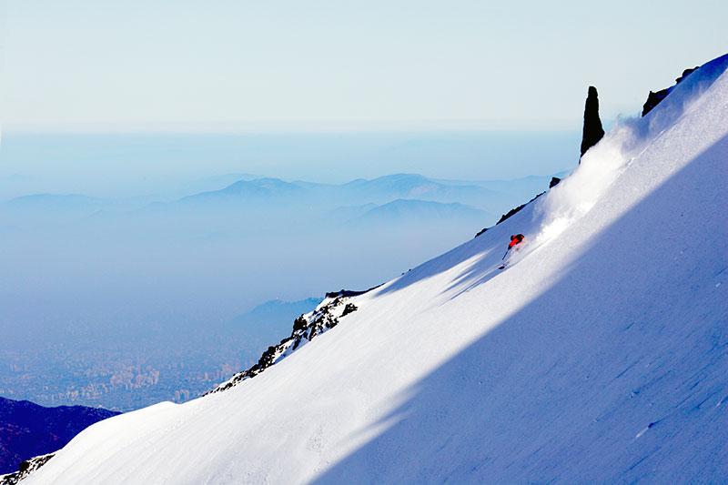 Skiing in La Parva Chile