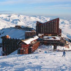 ski escape the andes