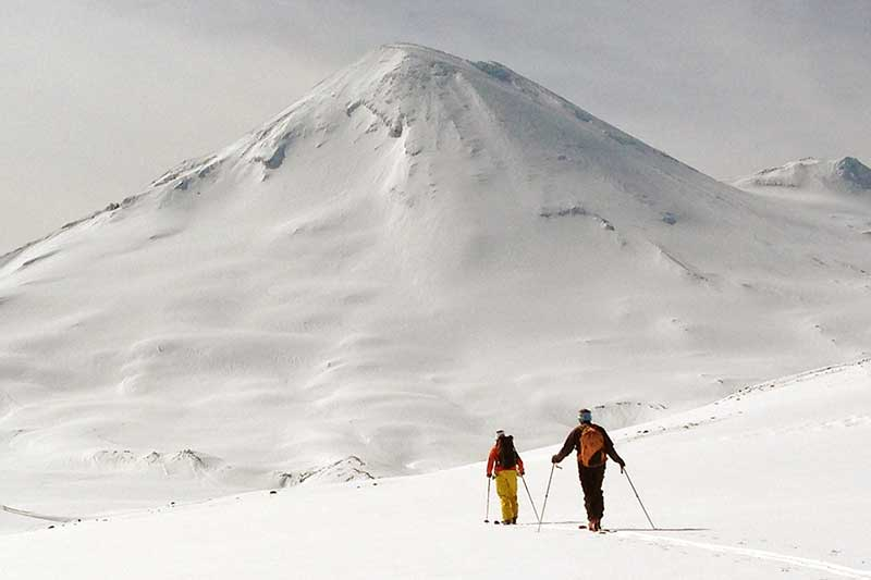 chilean ski touring