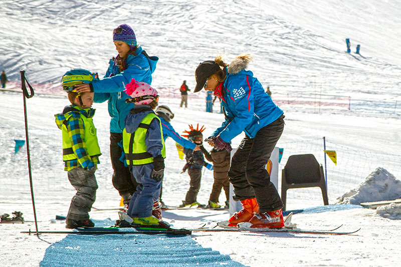 valle nevado ski school
