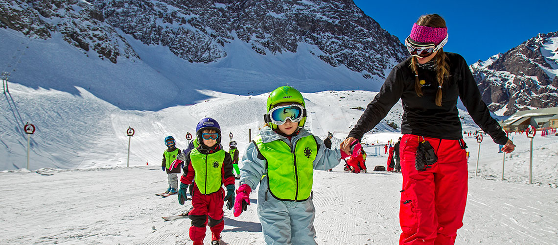 Ski School in Chile